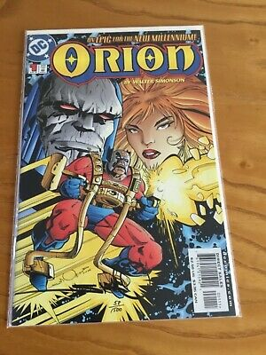 Orion #1. Limited 1 Of Only 1500 Copies. Signed By Walter Simonson. Df Coa.