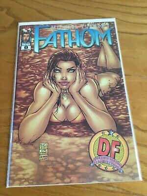 Fathom #0 Exclusive Cover. Df Coa.