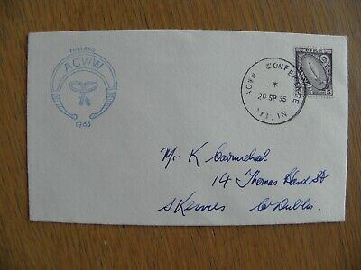 Ireland Eire - 1965 Definitive, ACWW conference cancel, First Day Cover FDC