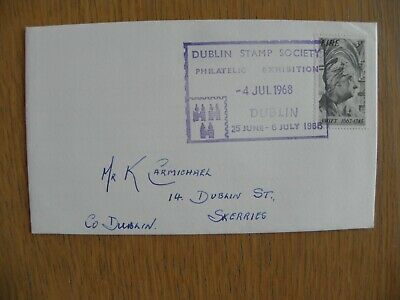 Ireland Eire - 1968 Dublin Stamp Exhibition First Day Cover FDC (1)