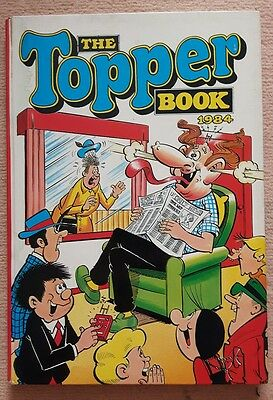 The Topper Book 1984 Annual. Not price clipped