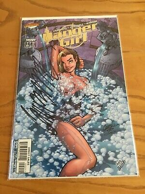 Danger Girl #2. Gold Foil Edition. Signed By J.scott Campbell. Df Coa.