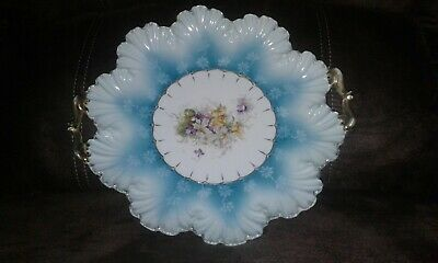RS Prussia cake plate unmarked
