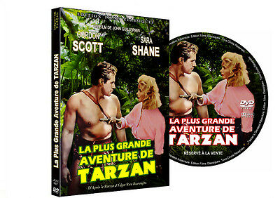 LA PLUS GRANDE AVENTURE DE TARZAN (Gordon Scott)