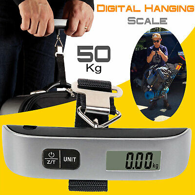 Digitale Kofferwaage bis 50 KG Gepäckwaage Reisewaage Handwaage Luggage Scale