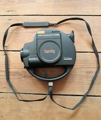 Vintage Agfa Moviematic C100 Family movie film camera