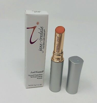 Jane Iredale Just Kissed Lip & Cheek Stain in Forever Pink 0.1 oz/3 g New in Box