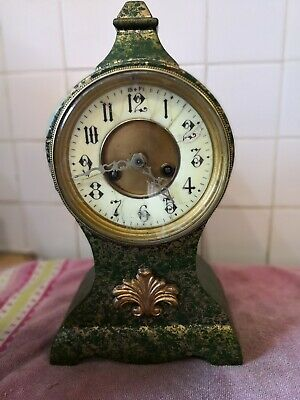 French Style Mantle Clock Spares Or Repairs
