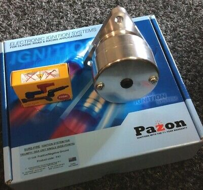 Magneto Conversion with a Pazon 6 Volt Electronic Ignition Kit,coil Etc