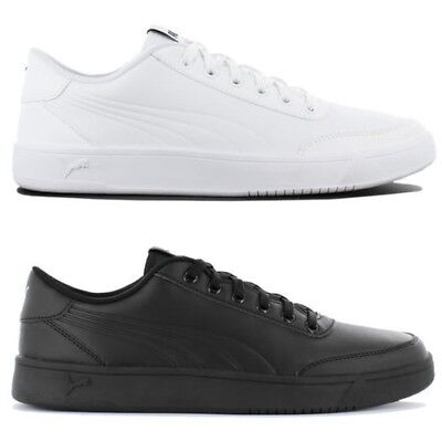 8d9b17012238 Puma Court Breaker Leather Mono Men s Sneakers Shoes Leisure Leather  Trainers