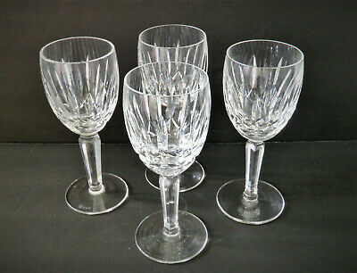 4 Waterford Crystal Kildare Claret Wine Glasses - 2 Sets Available