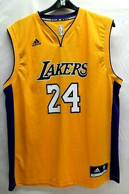 b6f32b0d0198 Kobe Bryant Los Angeles Lakers adidas Youth Replica Home Jersey - Gold L