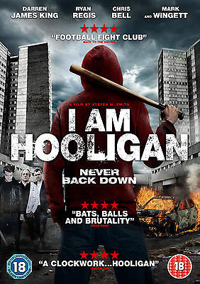 I Am Hooligan (DVD) (NEW AND SEALED) (ACTION) (REGION 2) (FREE POST)