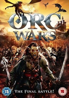 Orc Wars (DVD) (NEW AND SEALED) (REGION 2) (FREE POST)