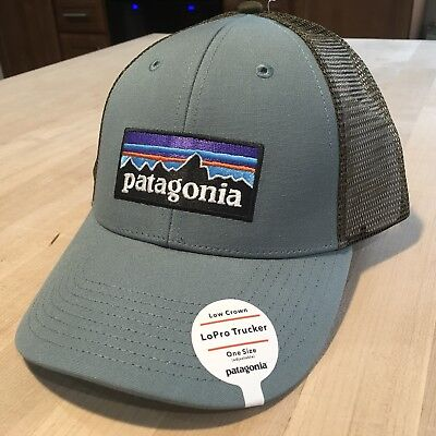 fb1751fed02 PATAGONIA MENS - P-6 Logo LoPro Trucker Hat Cap - Roots Red -  28.99 ...
