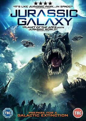Jurassic Galaxy  (Dvd) (New) (Released 11Th February) (Free Post)