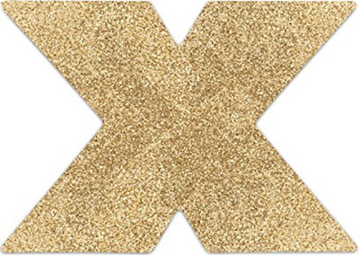 copricapezzoli Bijoux Indiscrets Flash Cross - oro