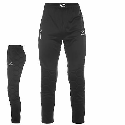 Sondico Mens Goalkeeper Pants Black Football Soccer