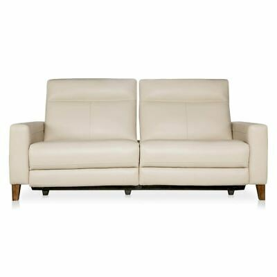 New Freedom Xander 3 Seat Leather Electric Recliner Sofa