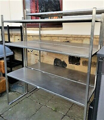 Stainless Steel Catering Kitchen Shelving