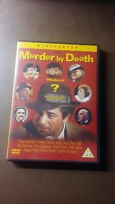 DVD MURDER BY DEATH / James Coco / Kultklassiker Englischen Cover Ton Deutsch