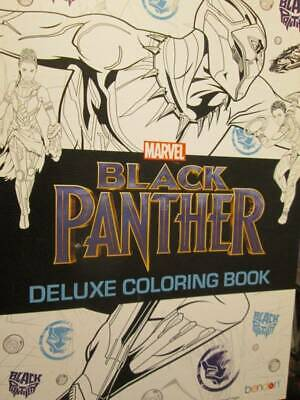 Bendon Black Panther Movie Deluxe Coloring Book-Tear & Share Pages