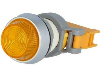 PLN22A-O Control lamp 22mm Illumin BA9S, filament lamp prominent IP65 AUSPICIOUS