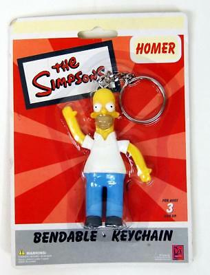 The Simpsons HOMER SIMPSON Wooly Willy KEYCHAIN Keyring NEW Retired Groening