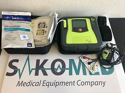 ZOLL AED Pro with NEW Adult Pad, Battery and ECG cable / TESTED