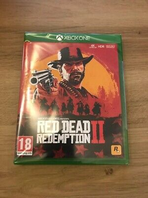 Red Dead Redemption 2 Xbox One Game - Brand New Sealed