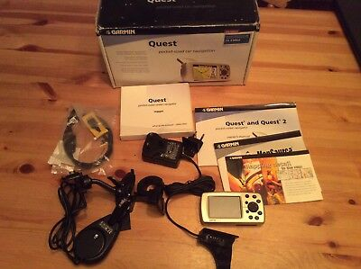 Garmin Quest Sat Nav Motorcycle / Car