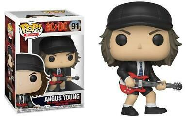 Funko POP Vinyl Rock ! Angus Young AC DC - #91 - NEW!!! - Subito disponibile