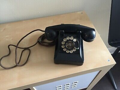 Vintage Antique Western Electric Rotary Dial Telephone