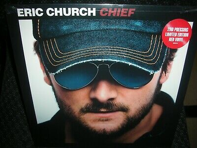 Eric Church **Chief **BRAND NEW RED COLORED 180 GRAM RECORD LP VINYL