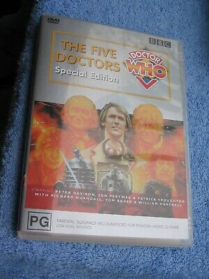 Doctor Who - The Five Doctors - Special Edition - Dvd