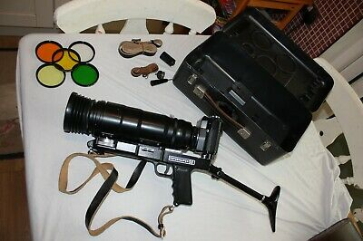 Vintage Russia Zenit 12S Tair-3S 300mm Lens Photosniper - Complete Camera Outfit