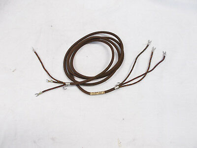 """Western Electric Cord D3A - 3 Conductor Cord 5' 6"""" Unused - N.O.S."""