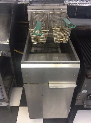 Imperial Commercial Gas Chip Double Fryer
