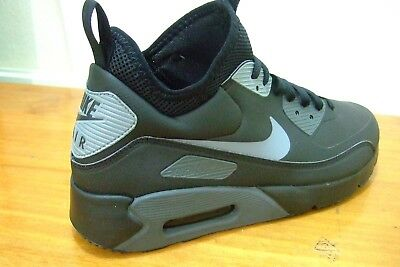 hot sale online c494c 6c127 obsidienne Cool Gris Hommes Tailles UK  7-12 Nike Air Max 90 Ultra Mid  Winter ®