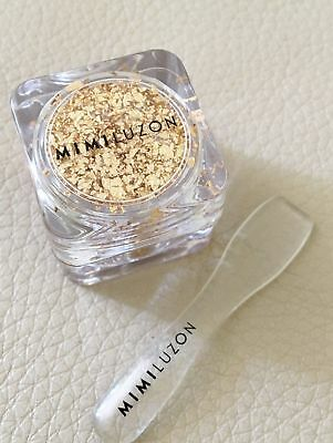 MIMI LUZON 24K Pure Gold Dust Skincare Net-A-Porter Gold Leaf Travel Size NEW