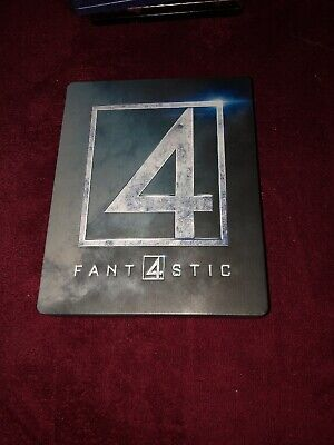 FANTASTIC 4 Embossed Steelbook Blu-Ray