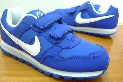 competitive price f70c7 7358d Nike Md Runner Boys Shoes Trainers Uk Size 5.5 Toddlers Strap Up 652966 424