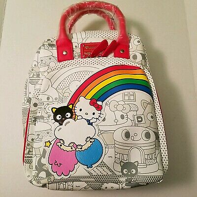 769a7c319 NEW Loungefly Hello Sanrio Hello Kitty Retro Mini Backpack Purse NWT  BoxLunch