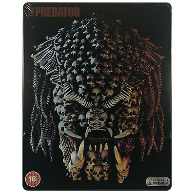 The Predator 4K Steelbook - UK Exclusive Limited Edition Blu-Ray