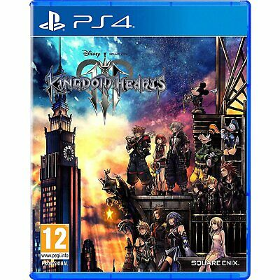 Kingdom Hearts 3 III ENGLISH PS4 PlayStation 4