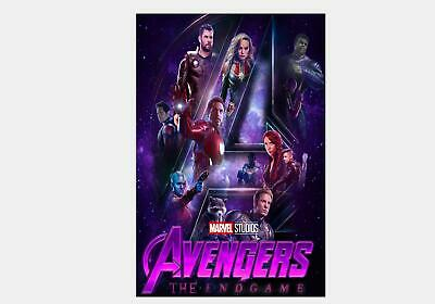 177 Avengers 4 Endgame Movie 2019 Marvel Brie Larson Print 18x12 36x24 Poster