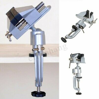 Portable 75mm 360° Swivel Table Work Bench Vice Die Cast Vise Clamp Repair