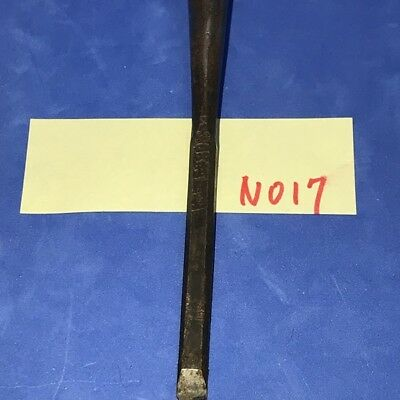 Blade 0.1969in Length 8.6614in Japanese Vintage Chisel Nomi Woodworking Tool 17