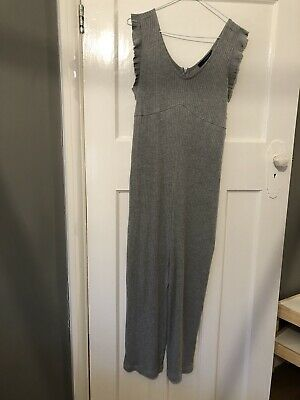 Grey Maternity Jumpsuit Size S