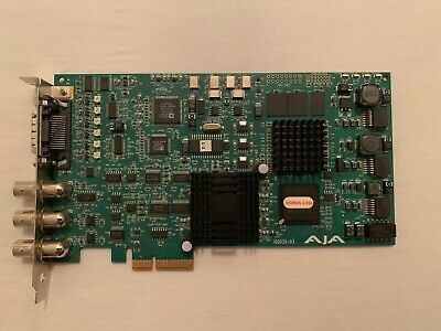 AJA Kona LHe Analog Video Capture Card